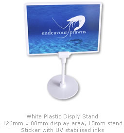 Download Endeavour Prawn Display Stand